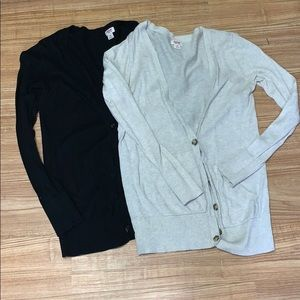2 Mossimo Supply Co Cardigans